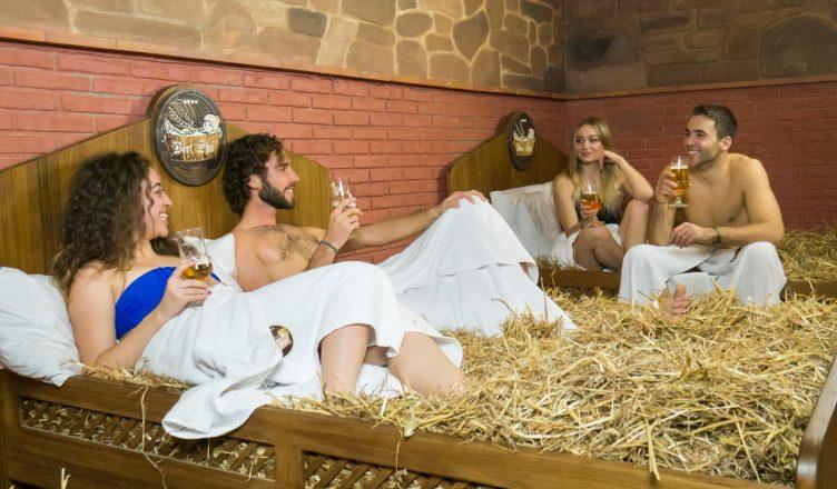 Spa de Cerveja - Solteiros contra Casados
