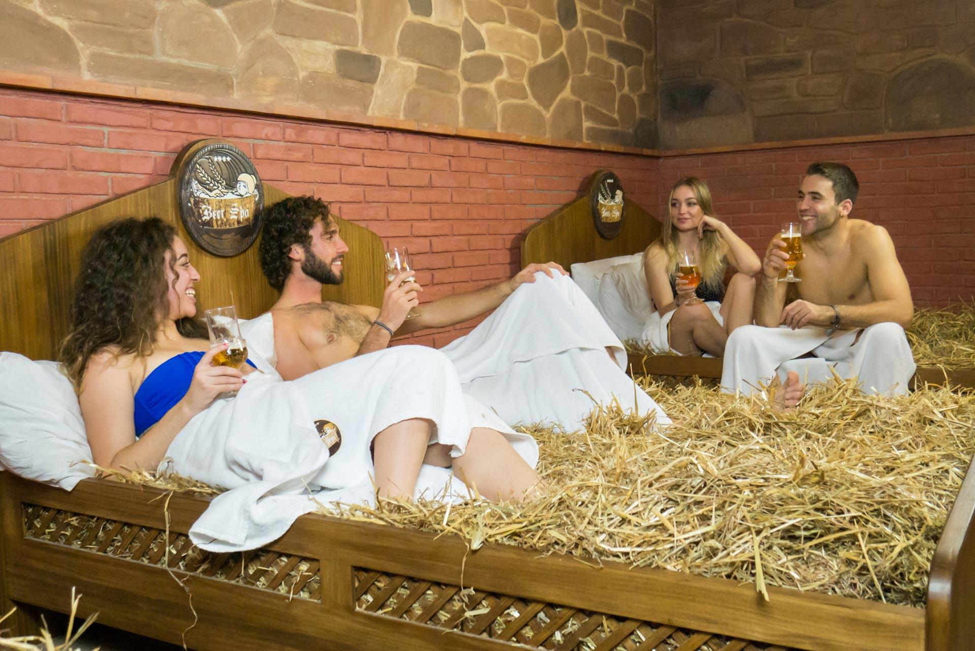 Spa de Cerveja - O paraíso existe! Descobre onde fica