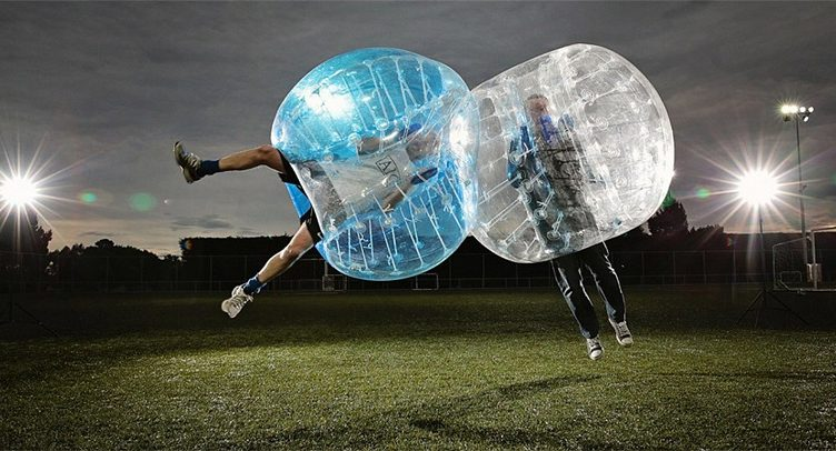 bubble futebol porto com amigos