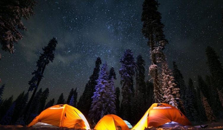 camping ideias com amigos