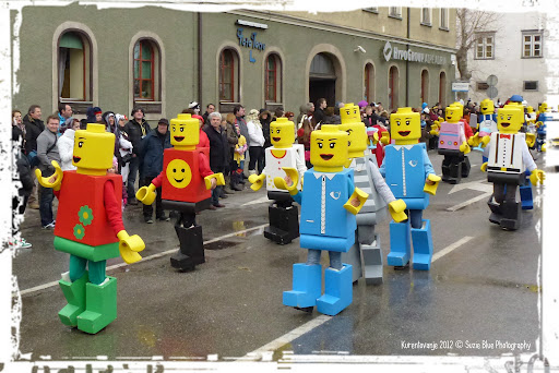Lego disfarce de carnaval