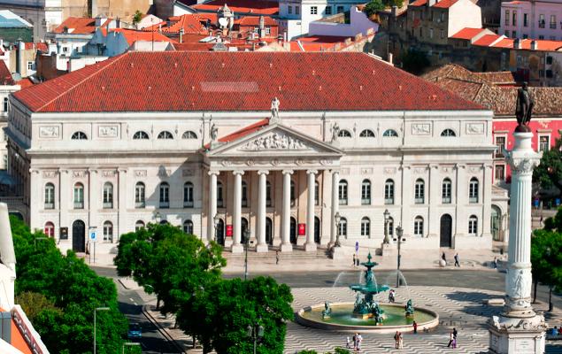 Teatro Nacional D. Maria II lisboa