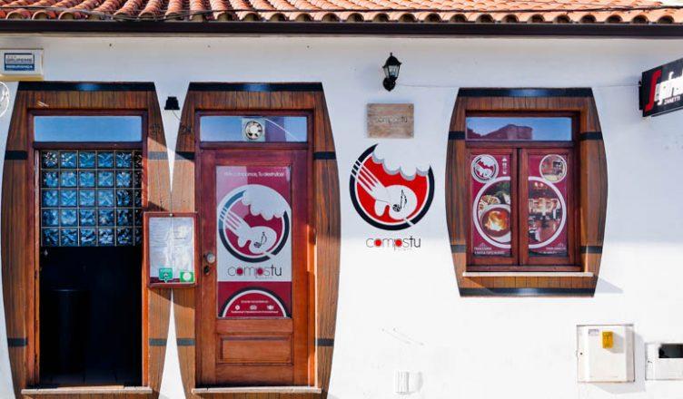 Compostu Tavern comida tradicional
