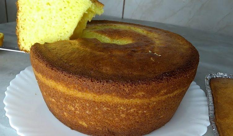 bolo de laranja receita com leite condensado
