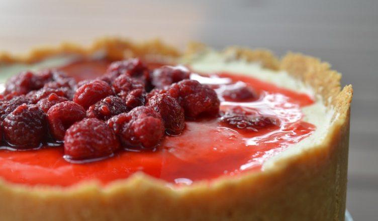 cheesecake receita frutos vermelhos