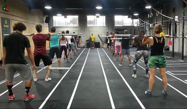 CrossFit Foz - exercicio