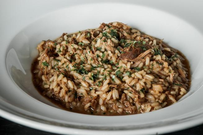 arroz de pato escuro